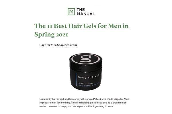 Best Hair Gels for Men - The Manual