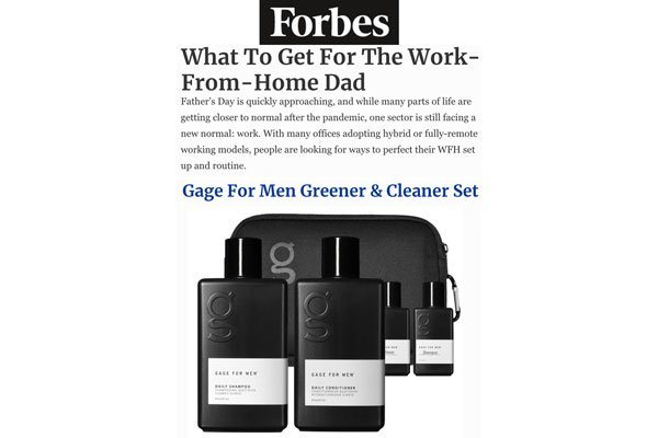 Forbes What to Get for the Work-From-Home Dad